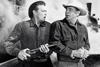 Van Heflin and Glenn Ford in western