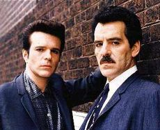 Ray Luca and Dennis Farina in Crime Story