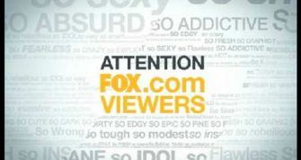 fox.com online notice about pay wall for TV
