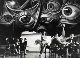 salvador dali seqence in spellbound on blu-ray