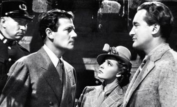 Joel McCrea, Laraine Day and George Sanders in Hitchcock spy thriller