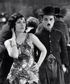 Georgia Hale with Charlie Chaplin