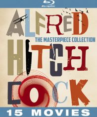 Alfred Hitchcock Blu-ray box set with Rear Window, Vertigo