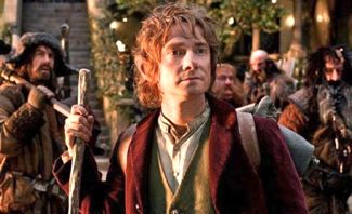 "Martin Freeman in ""The Hobbit"""