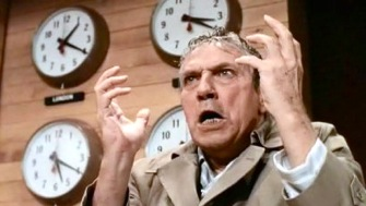 peter finch in Sydney Lumet film Network
