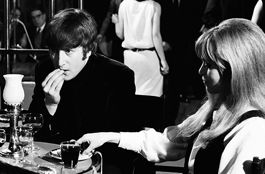 Lennon in A Hard Day's Night