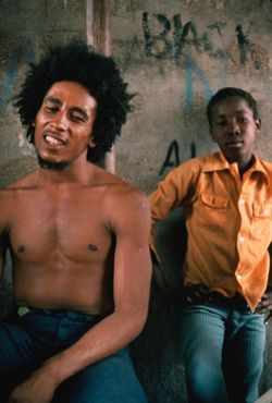 "Bob Marley in Kevin McDonald documentary film ""Marley"""