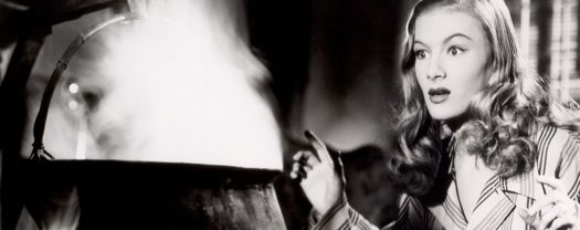 Veronica Lake in I Married a Witch from Criterion