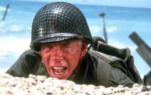 Lee Marvin in The Big Red One