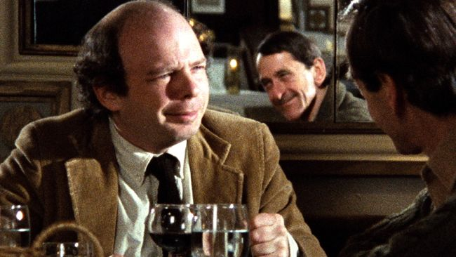 Wallace Shawn in My Dinner With Andre on Criterion Blu-ray