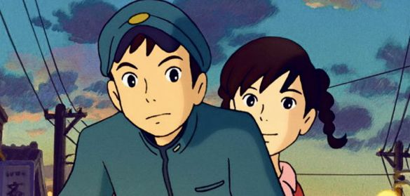 Shun and Umi in Poppy Hill