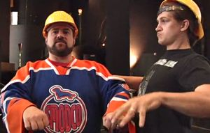 "kevin smith, left, in Hulu's ""Spoilers"""