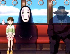 Spirited Away train scene