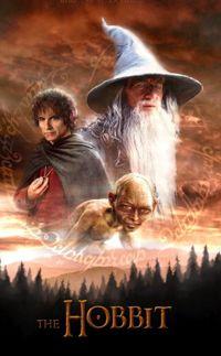 hobbit movie poster for netflix uk