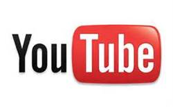 Youtube logo for online video